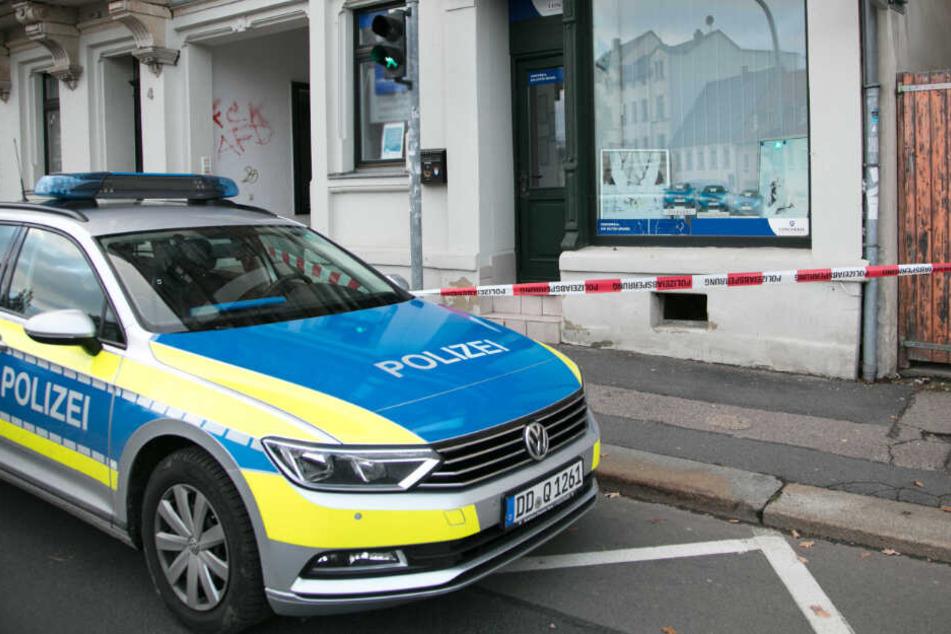 Chemnitz: Hört das nie auf? Einbrecher haben es auf Geschäfte abgesehen