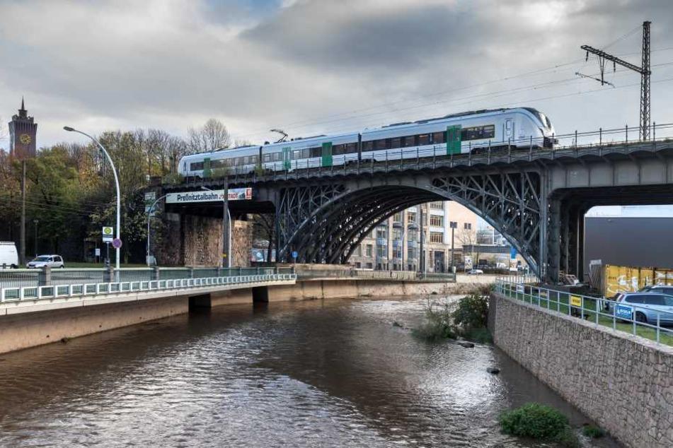 Bekommt das Viadukt an der Annaberger Straße bald eine stimmungsvolle Beleuchtung?