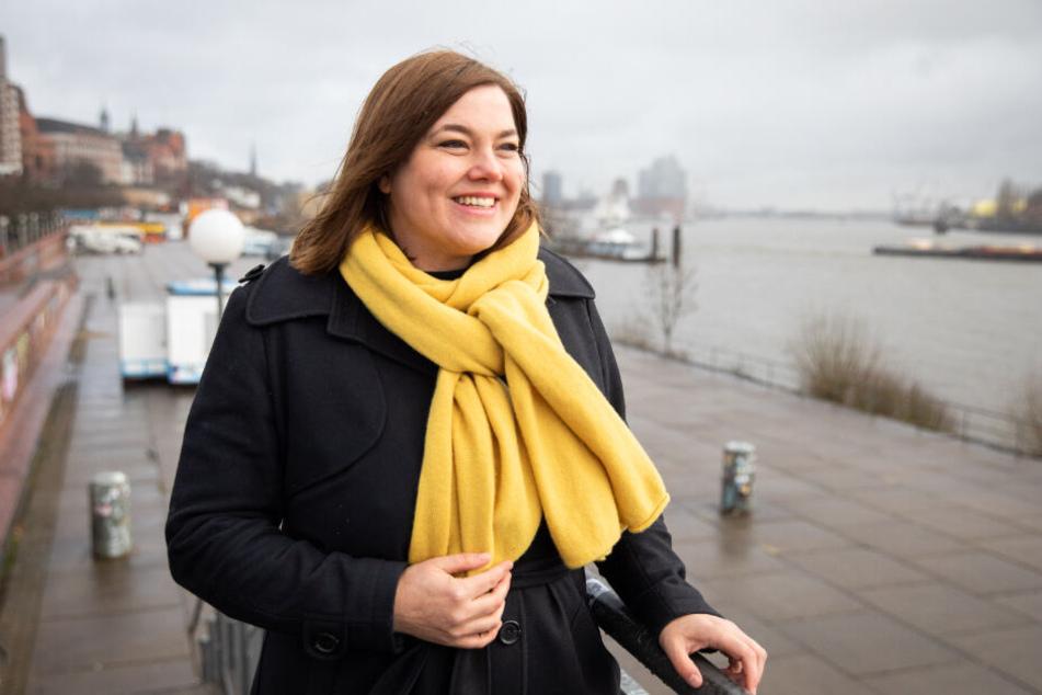 Katharina Fegebank ist Spitzenkandidatin der Grünen für die Bürgerschaftswahl. (Archivbild)