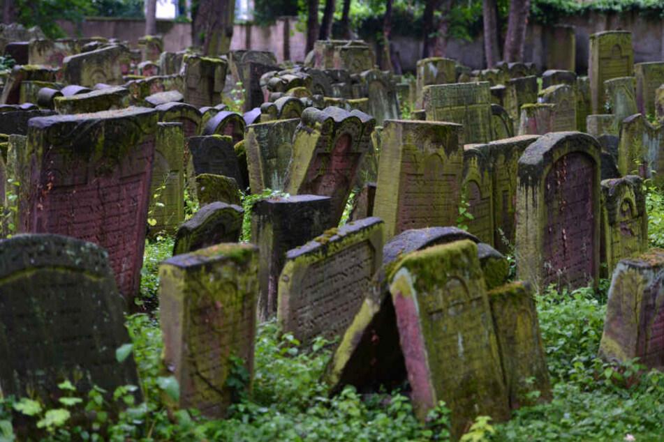 Auf dem Jüdischen Friedhof in Gotha wurden Schmierereien entdeckt. (Symbolbild)
