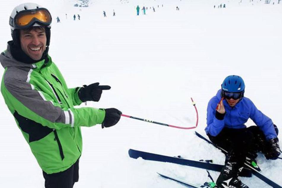 Ausgerechnet im Urlaub! Ehrlich Brothers bauen Unfall auf Ski-Piste