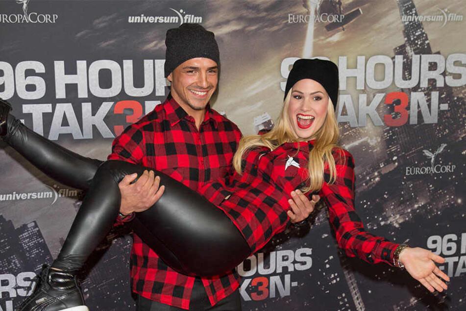 Verliebt zeigten sich Christoph und Angelina bei einer Filmpremiere 2014. Feiern die beiden jetzt ein Liebes-Comeback?