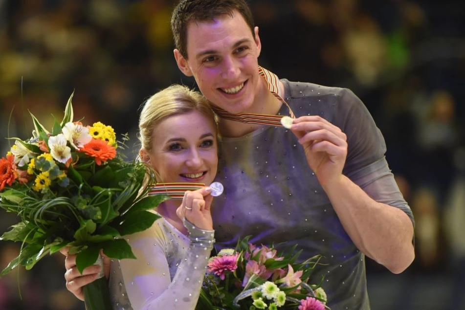 Bei der EM im Januar in Ostrava holten Aljona Savchenko und Bruno Massot die Silbermedaille.