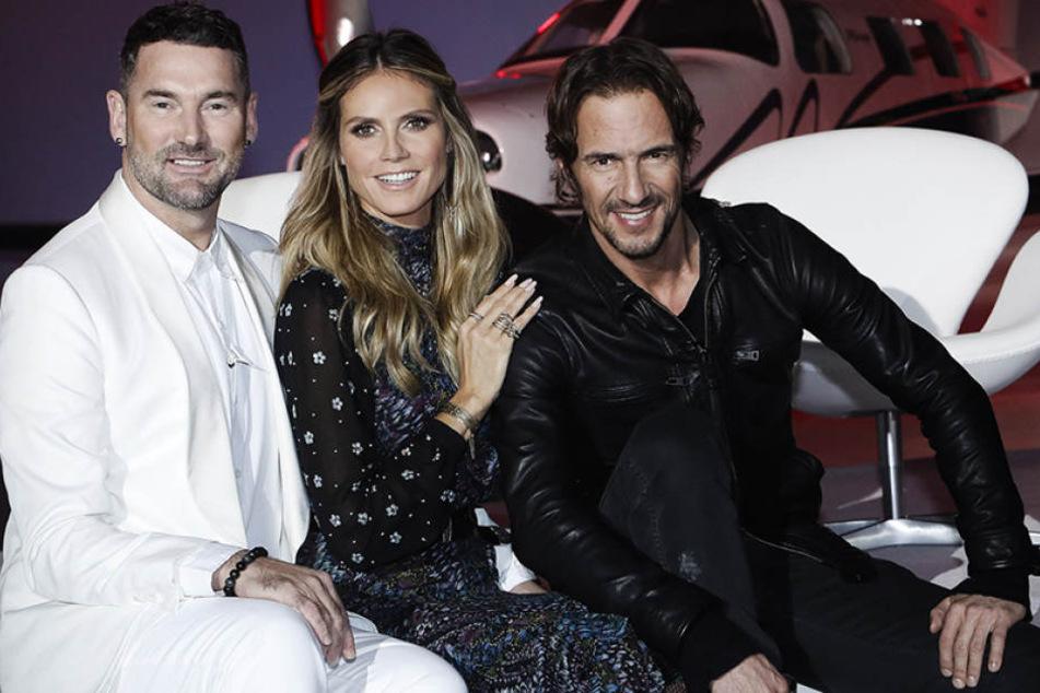 """Die Jury hat sich für die neue Folge """"Germany's next Topmodel"""" wieder eine echte Herausforderung ausgedacht ..."""