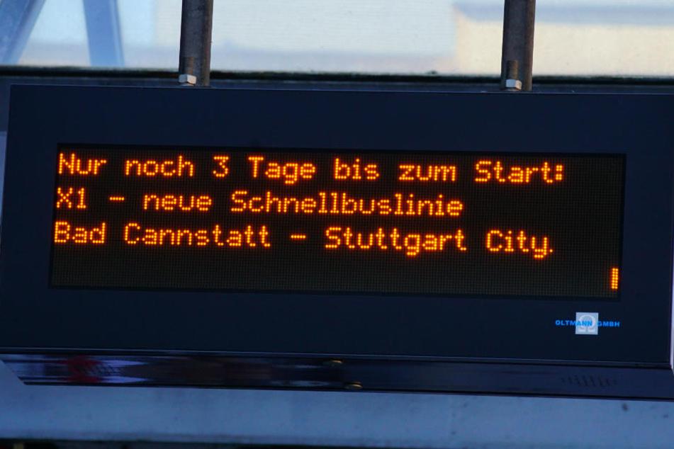 Am Montag startet die Schnellbuslinie X1 in den Alltagsbetrieb.