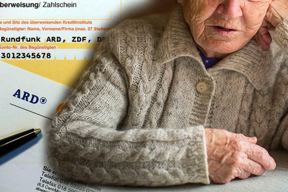 Die Rentnerin hat immer gearbeitet. Trotzdem soll nun ein Teil ihrer Rente gepfändet werden. (Symbolbild)