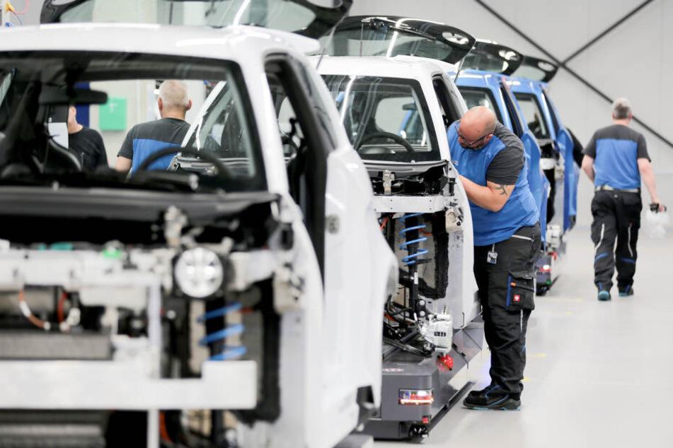 Die Produktion der Elektroautos ist an die Aachener Universität angelagert.