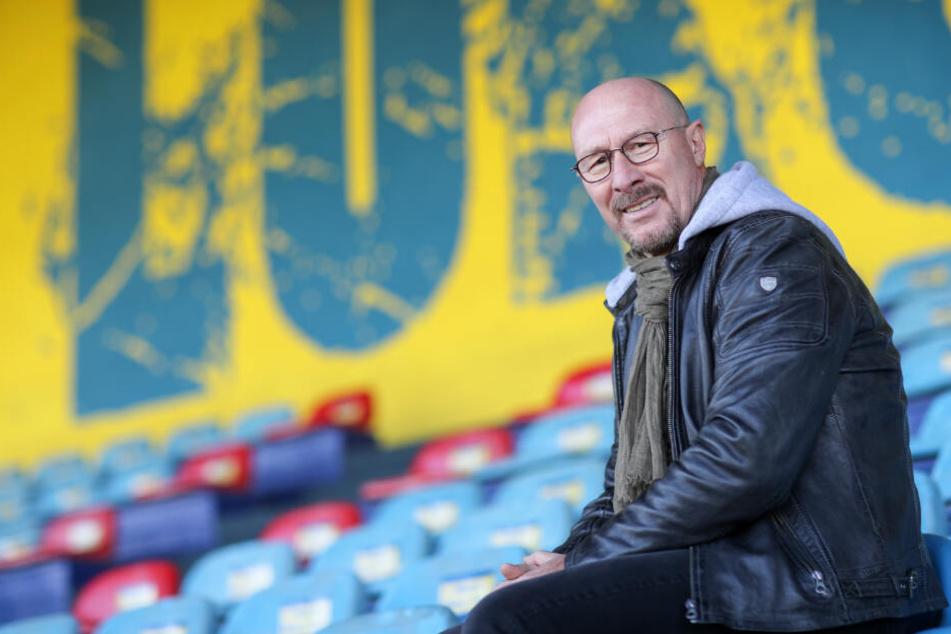 Seit Juni diesen Jahres ist der ehemalige Fußball-Profi Sportdirektor bei Lok Leipzig.