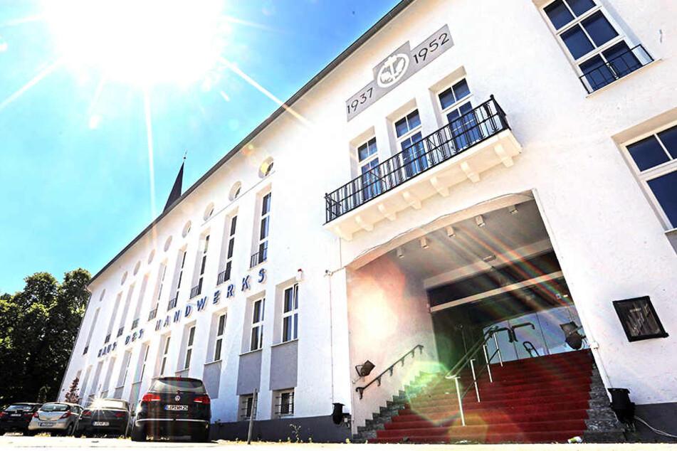 Das ehemalige Haus des Handwerks soll ab Mitte September zur Eventlocation werden.
