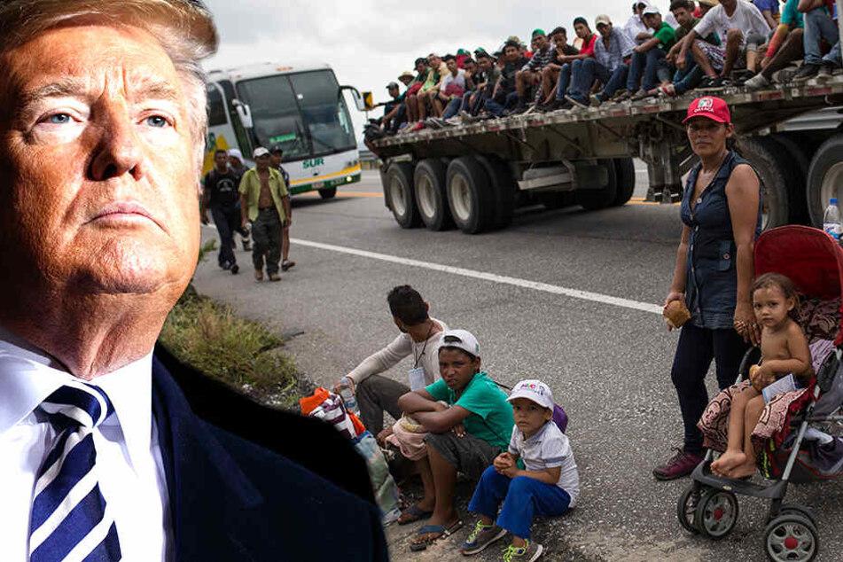 Trump will notfalls auf Migranten-Karawane schießen lassen