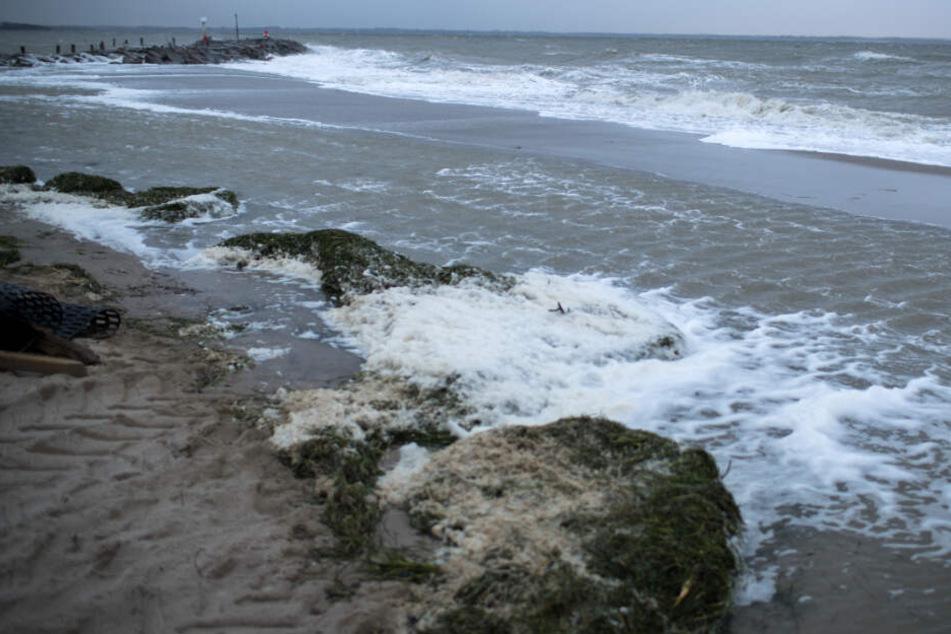 Am Timmendorfer Strand fanden Spaziergänger eine leblose Person im Wasser. (Symbolbild)