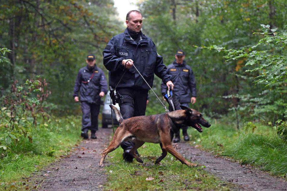 Zugriff bei Zwickau: Deutsche und tschechische Polizisten übten die Jagd auf Drogendealer.