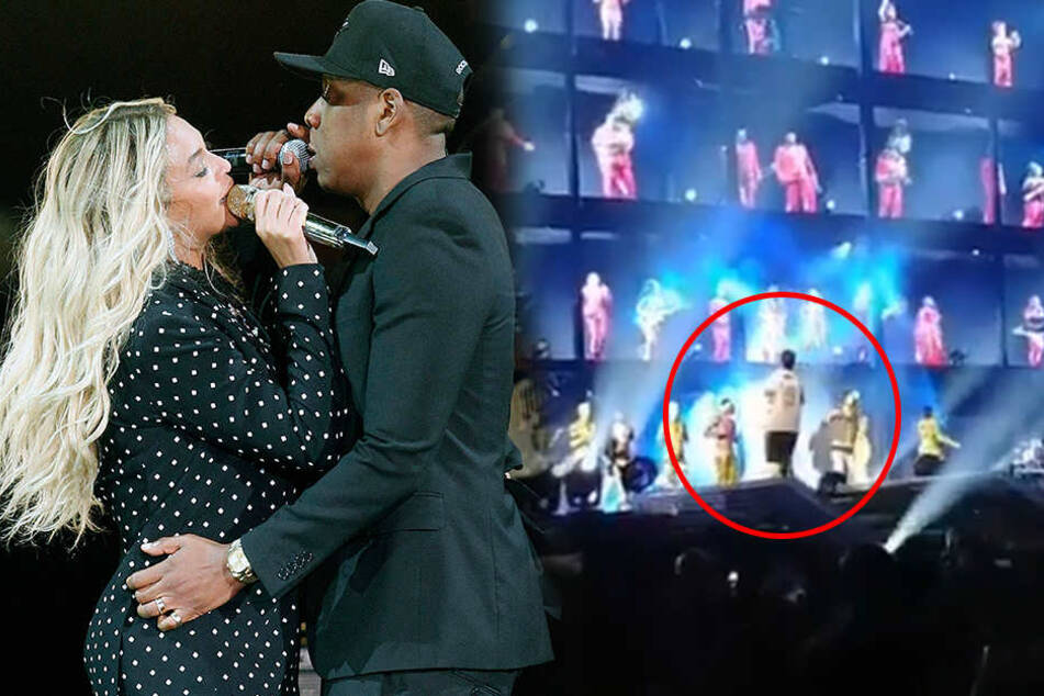 Fan sorgt bei Konzert von Beyoncé und Jay-Z für Aufregung