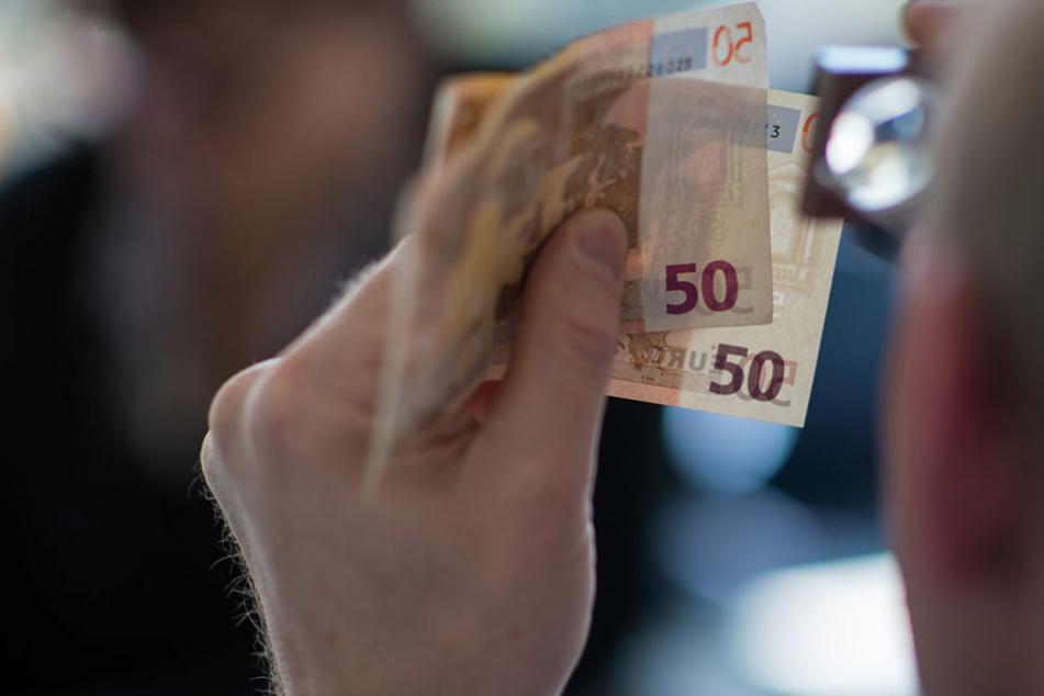 50-Euro-Noten werden am häufigsten gefälscht.