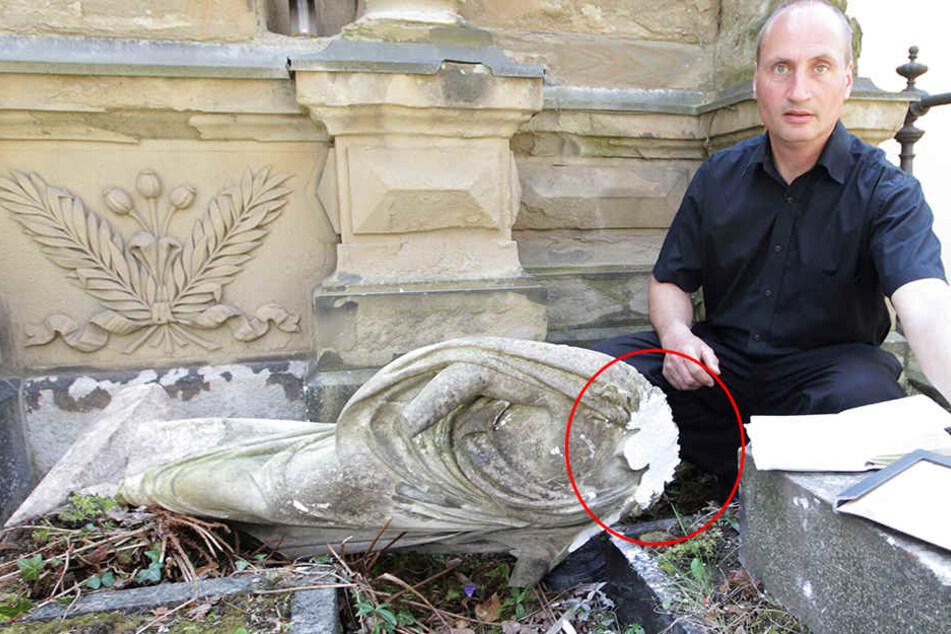 Jesus geköpft! Vandalen zerstören alte Gräber