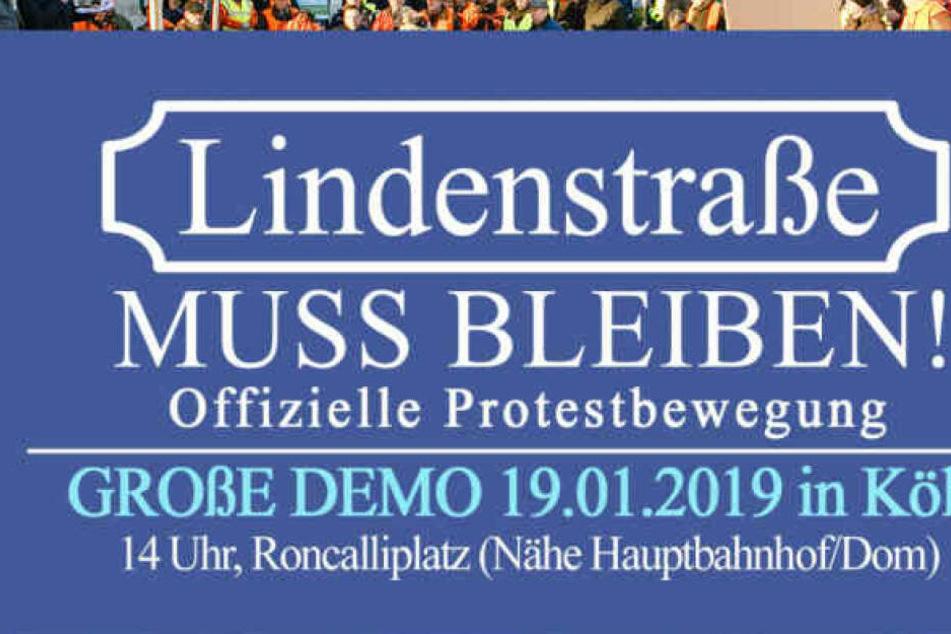 Seit dem Bekanntwerden des Lindenstraßen-Endes gibt es immer wieder Aktionen und Demos für deren Erhalt.