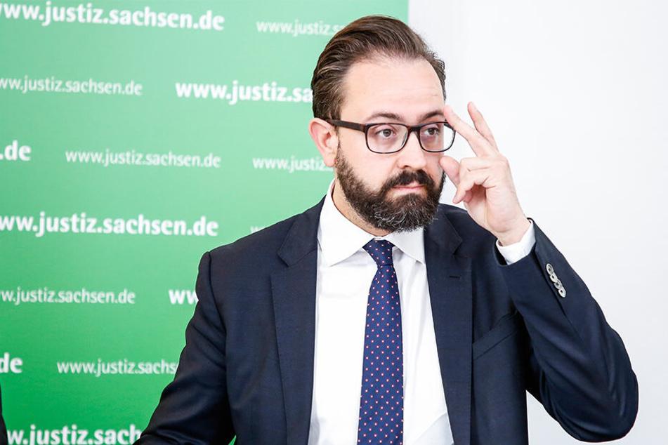 Justizminister Sebastian Gemkow (40, CDU)