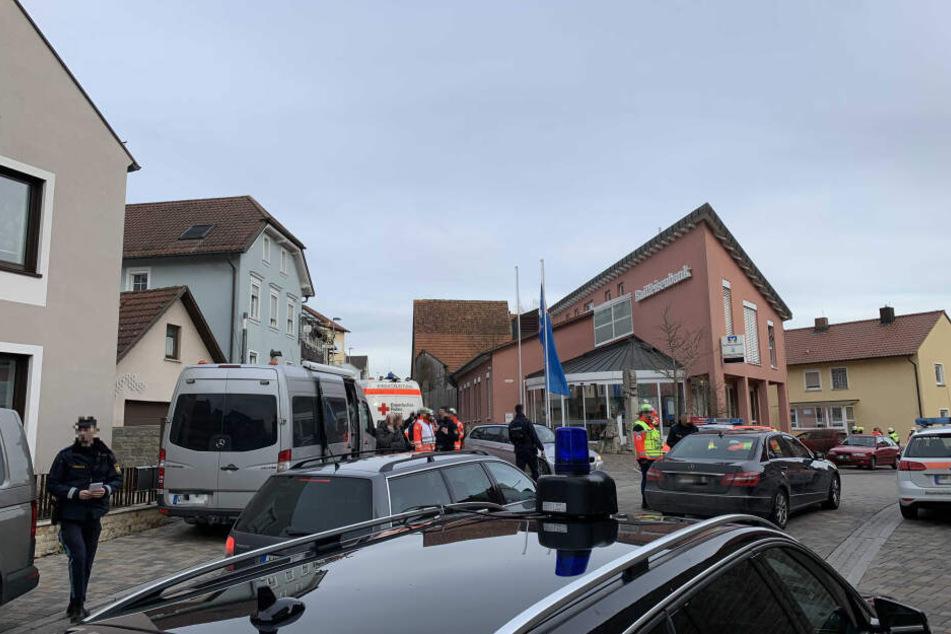 Der Mann wurde in der unterfränkischen Ortschaft Kürnach gesichtet.