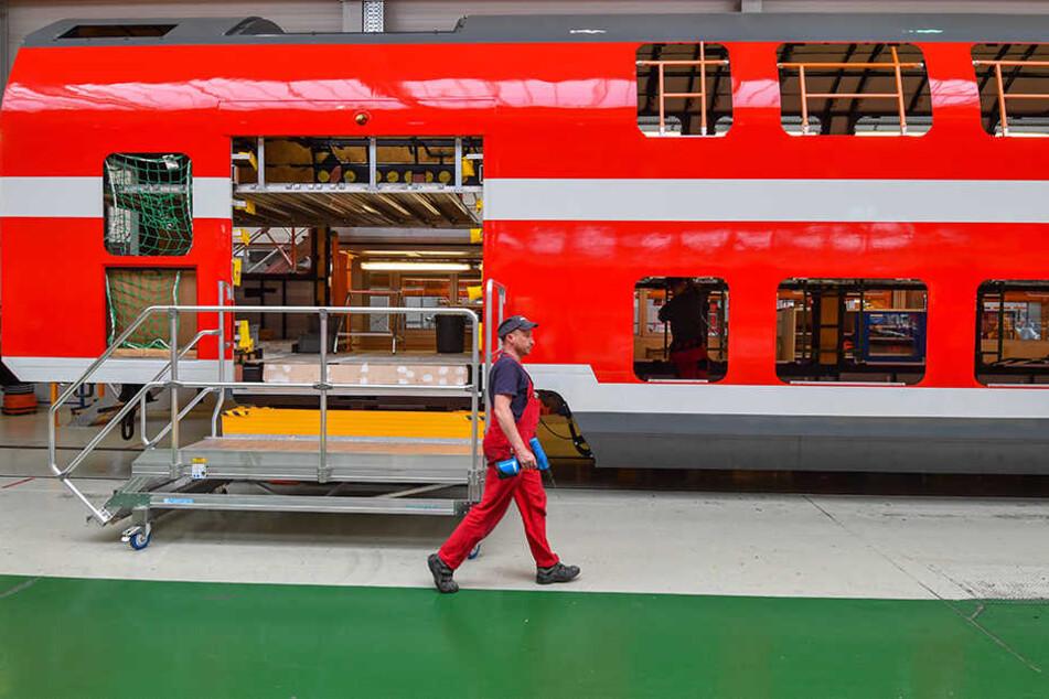 Fertigung bei Bombardier in Bautzen. Das Unternehmen will kräftig investieren.