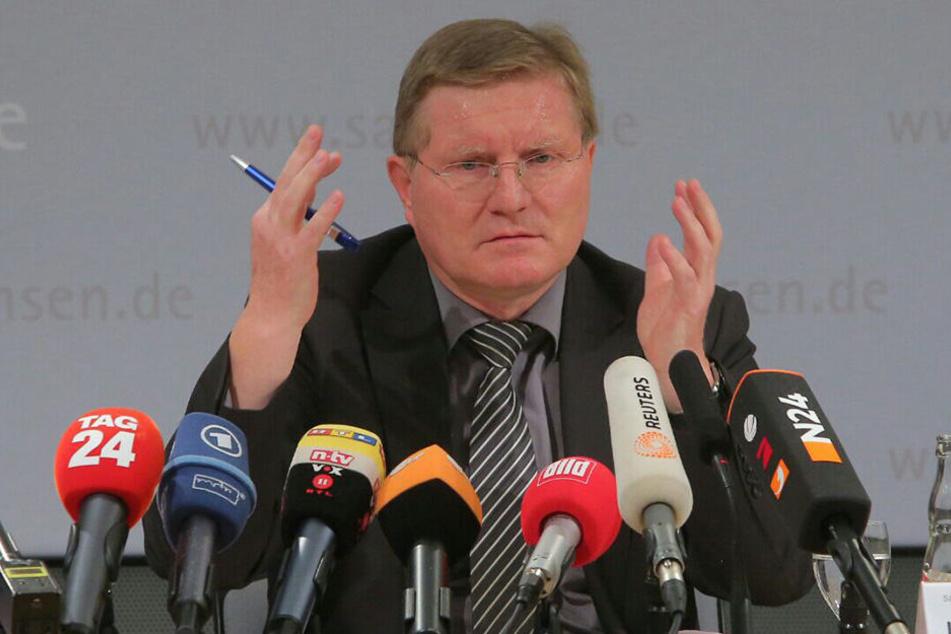 Der Leipziger JVA-Chef Rolf Jacob.
