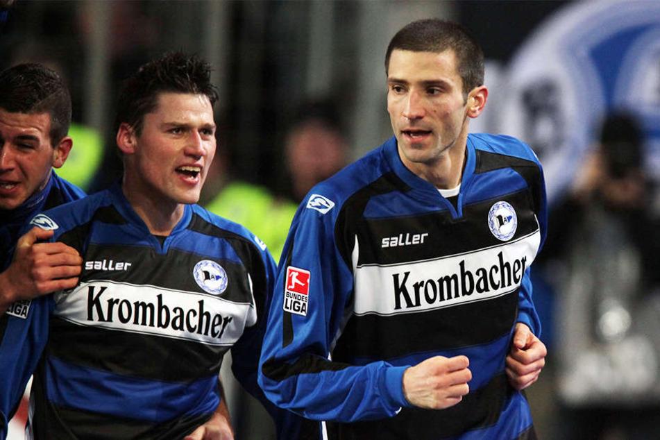 André Mijatovic trug drei Jahre lang das schwarz-weiß-blaue Trikot des DSC.