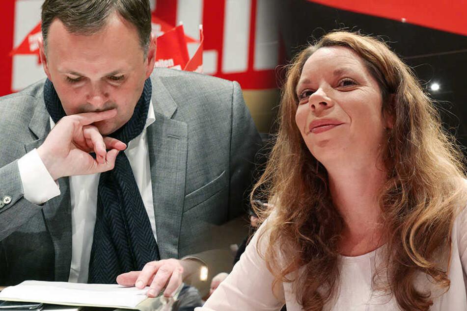 Schollbach scheitert! Sie ist Sachsens neue Linken-Chefin