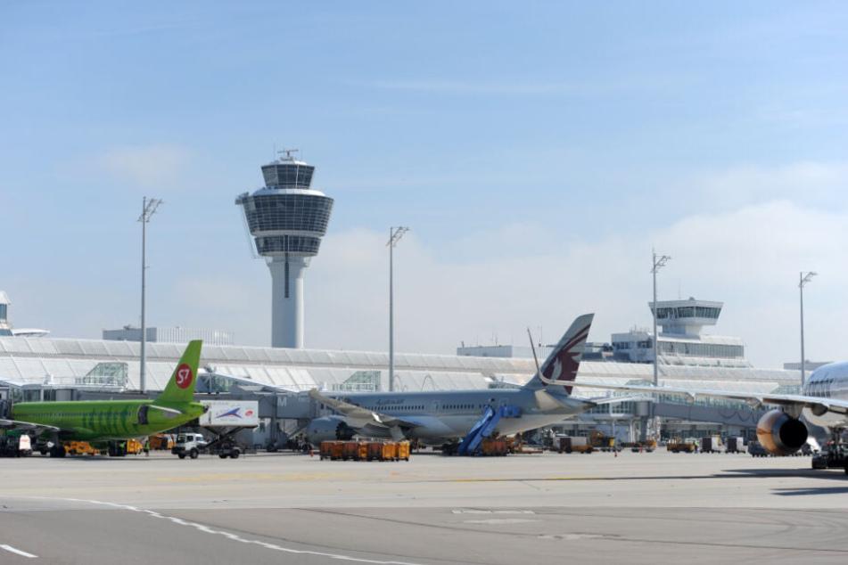 Der Flughafen München hat ein weiteres Rekordjahr hingelegt.