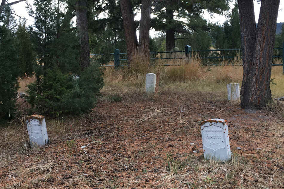 Craythorn caused more than $1,000 in damage by digging in the Fort Yellowstone Cemetery.