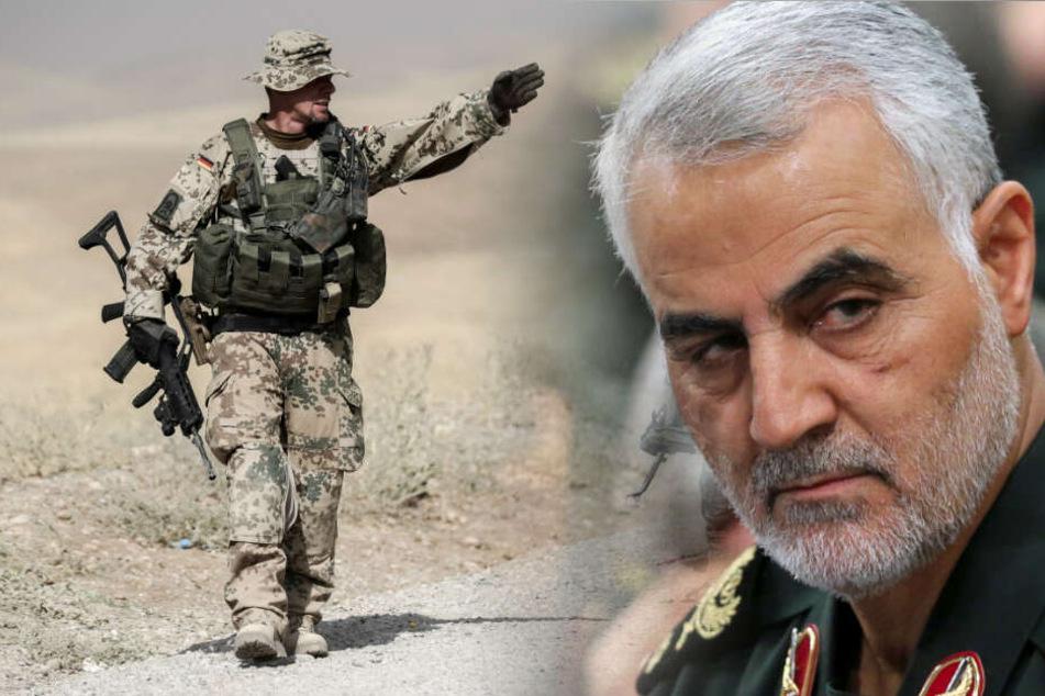 Nach Tod von Iran-General: Bundeswehr zieht Teile der Truppe aus Irak ab