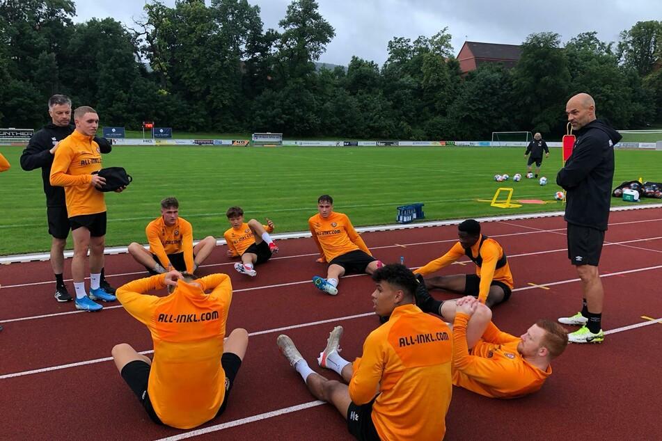 Die Dynamo-Profis erholen sich nach ihrer ersten Einheit.
