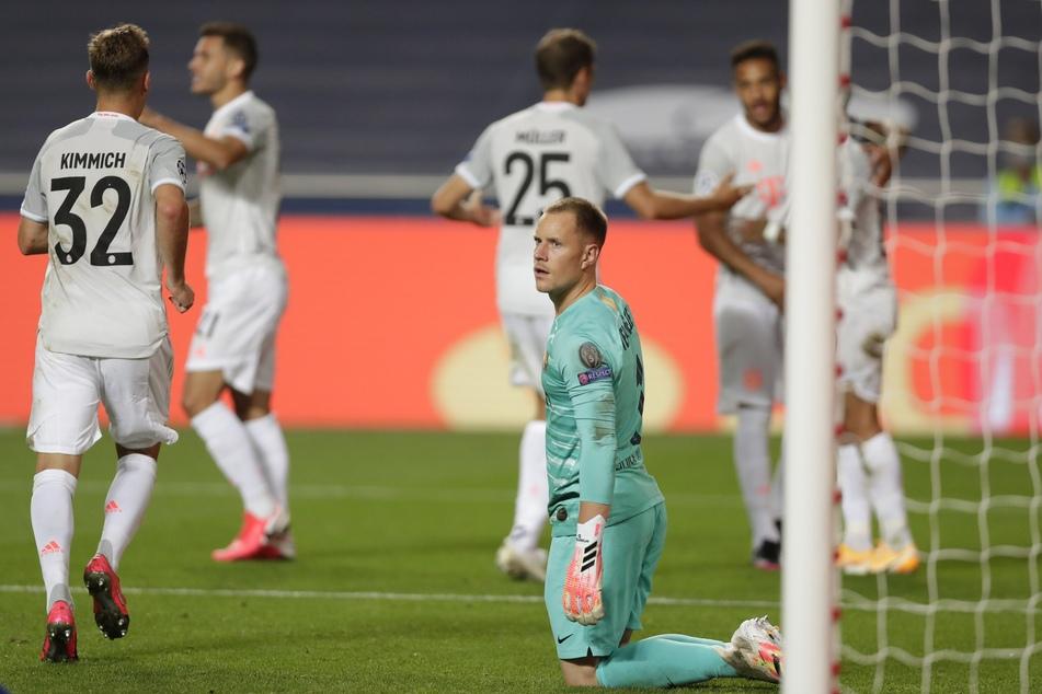Marc-Andre ter Stegen bestritt beim blamablen 2:8 in der UEFA Champions League gegen den FC Bayern München sein letztes Pflichtspiel. Anfang November soll er wieder zur Mannschaft stoßen.