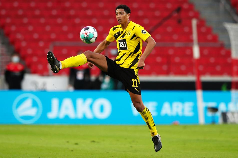 Jude Bellingham (17) absolviert am Sonntagnachmittag bereits sein 40. Saisonspiel für Borussia Dortmund.
