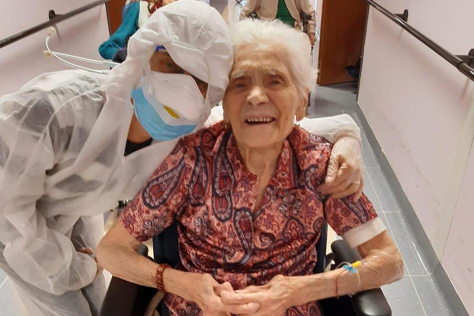 Coronavirus: 103 Jahren alte Italienerin trotzt der Covid-19-Krankheit