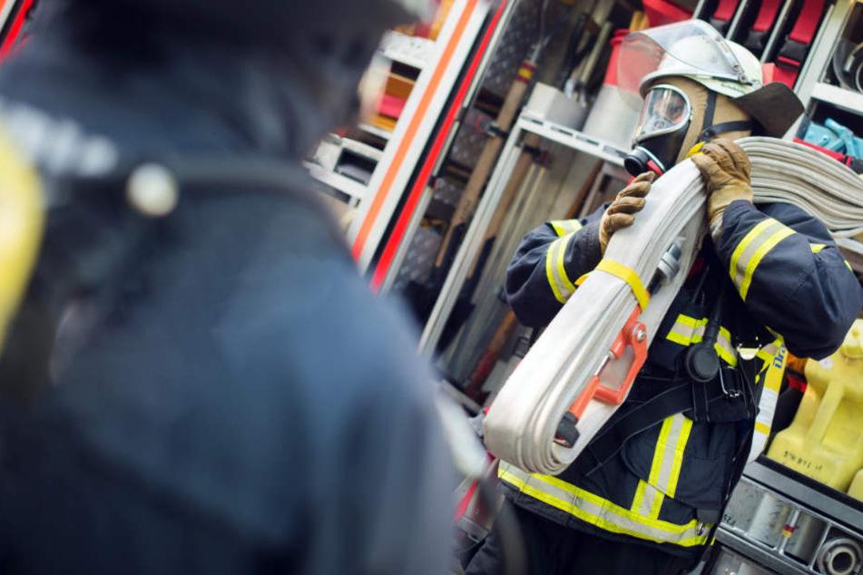 Die Feuerwehr musste das Hotel in München zur Sicherheit evakuieren. (Symbolbild)