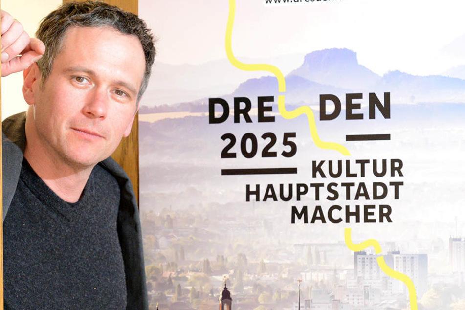 Er soll für Dresden den Titel holen: Stephan Hoffmann (44).