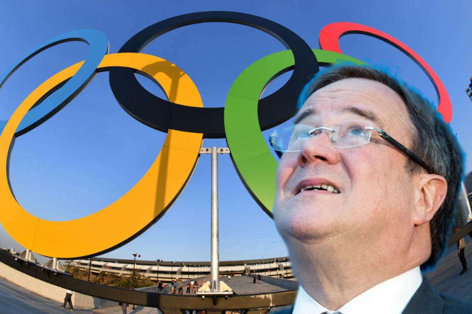 Am 8. März wird sich Ministerpräsident Armin Laschet mit IOC-Präsident Thomas Bach treffen.