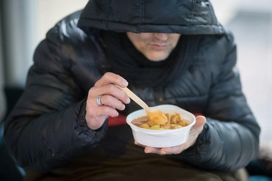 Etliche Obdachlose verbringen die Nächte in Leipzig unter freiem Himmel.