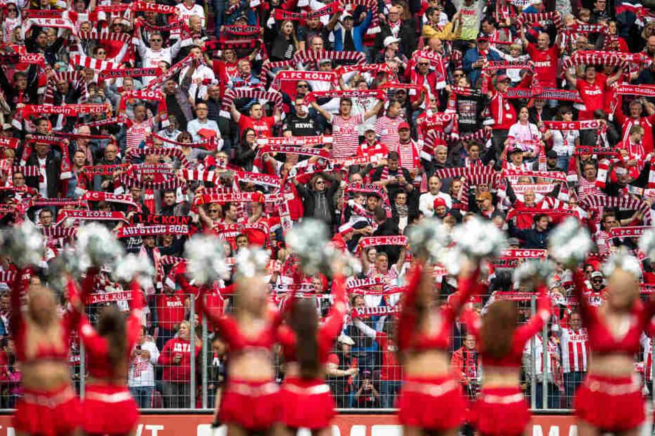 Gerd W. war einer von ihnen: FC-Fans im Stadion bei einem früheren Spiel.