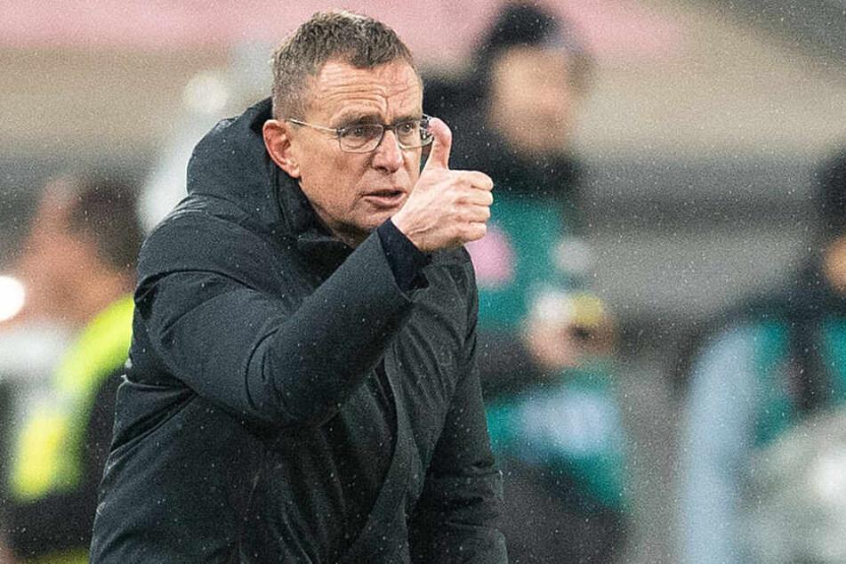 Ralf Rangnick trifft am heutigen Montag auf seinen Nachfolger als Trainer bei RB Leipzig.