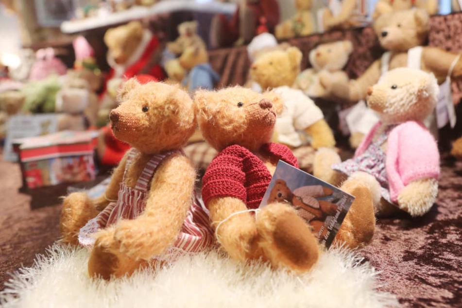 Die kleinen Teddys sollen Vertrauen schaffen. (Symbolbild)