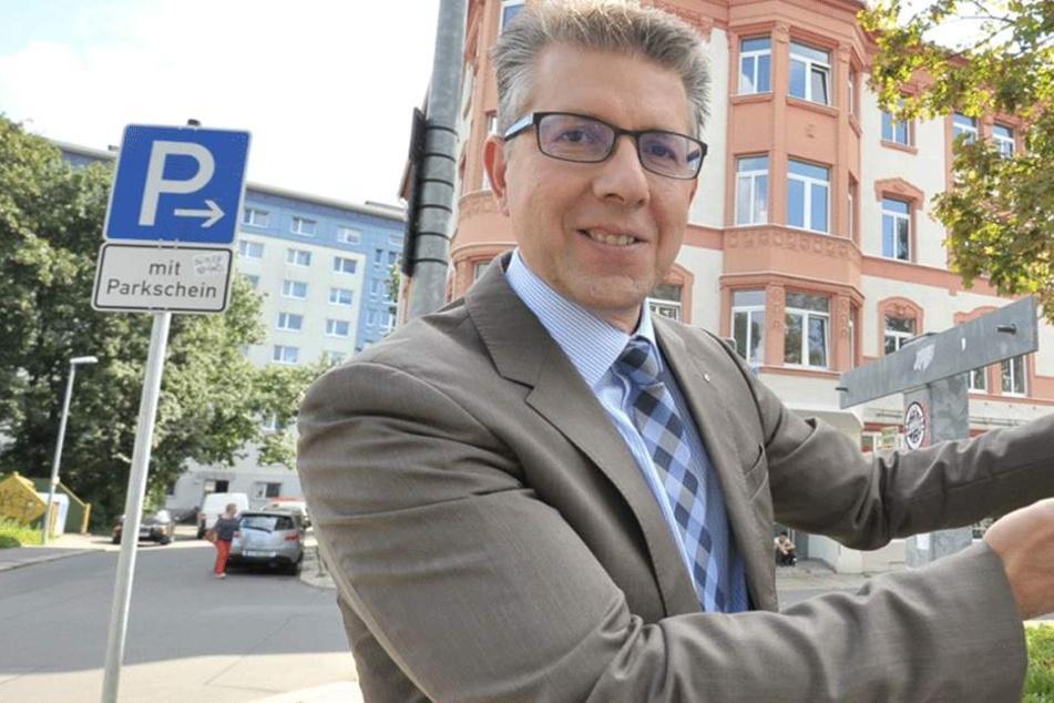 """Ralph Burghart (46, CDU): """"Chemnitz darf keine Low-Budget-Stadt werden."""""""