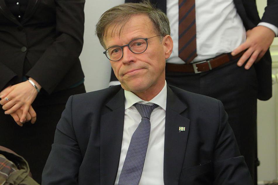 Seit 2009 ist Matthias Rößler Präsident des Sächsischen Landtages.
