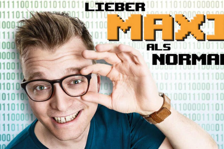 Comedian Maxi Gstettenbauer (30) gastiert am Sonntagabend in Berlin-Charlottenburg.