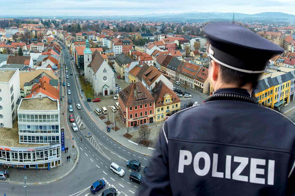 In Bautzen hat ein Mann sich vor einer Passantin entblößt.