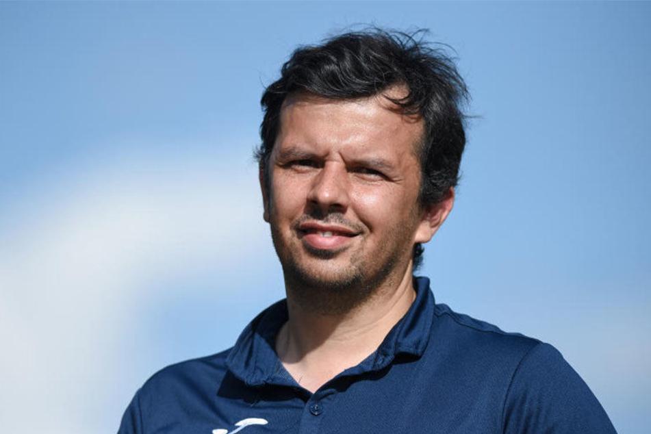 DSC-Sport-Geschäftsführer Samir Arabi gibt sich optimistisch und glaubt an sein Team.