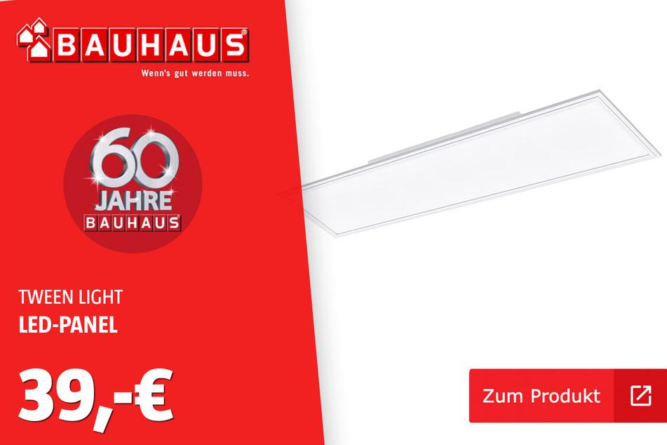 LED Paneel 120x30 für 39 Euro