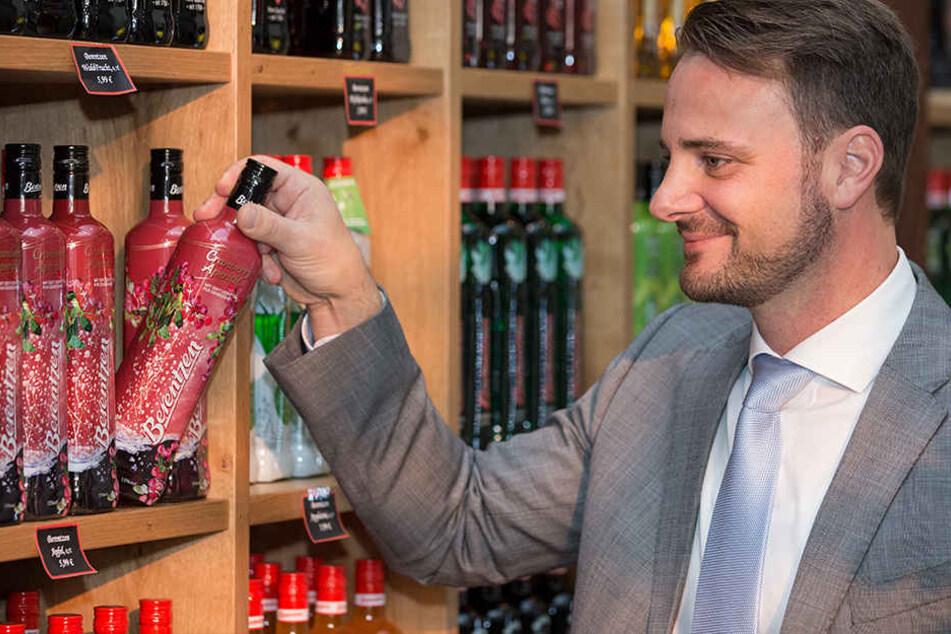 Oliver Schwegmann (43) möchte Korn als Szene-Getränk etablieren.