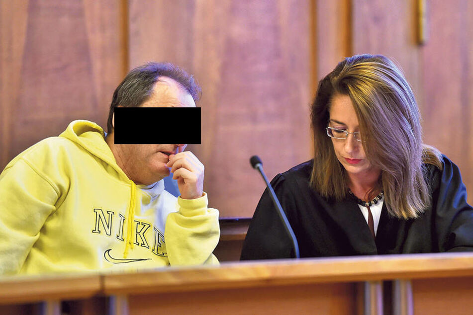 Gerald F. (57) wurde Freitag zu drei Jahren und acht Monaten Knast  verurteilt.