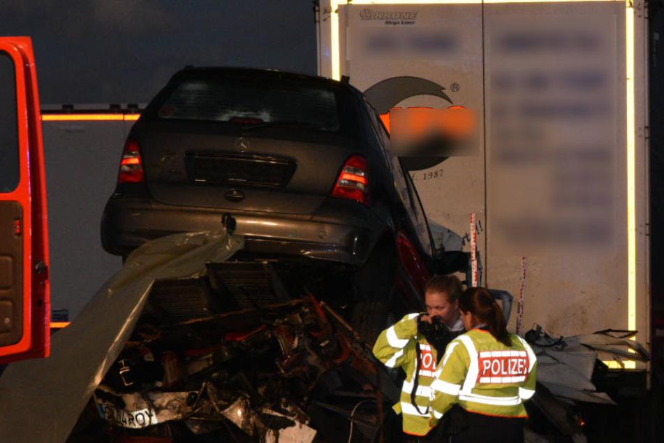 Der tödliche Crash ereignete sich auf der A6 bei Bad Rappenau.