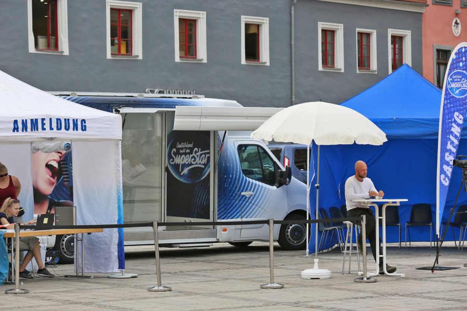 In Zwickau war am Donnerstag nichts los.